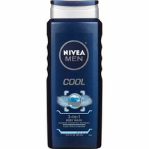 Nivea Men Cool 3-in-1 Body Wash with Icy Menthol, 500ml - $7.91
