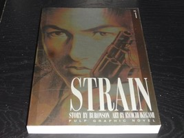 STRAIN VOL.1 by Buronson Ryouiti Ikegami Book Graphic Novel Manga Comic ... - $25.00