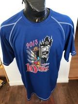 Vintage Champion T-Shirt Mens Size X Large 2013 Walt Disney 10 Miler Tower Terror - $24.74