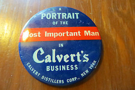 antique advertising mirror,A Portrait of the Mo... - $42.75
