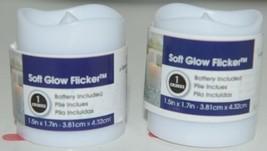 Everlasting Glow 25812 LED Votives Soft Glow Flicker Battery Included Pkg 2 image 1