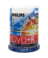 Philips DR4S6B00F/17 4.7GB 16x DVD+Rs (100-ct Cake Box Spindle) - $37.58