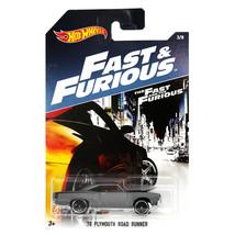 NEW 2016 Hot Wheels 1:64 Die Cast Car Fast & Furious '70 Plymouth Road Runner #3 - $14.99