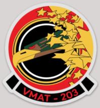 USMC VMAT-203 Hawks Sticker - $9.89
