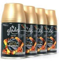 4 Glade 6.2oz Limit Edit Sultry Amber Rhythm Black Rum Leather Mint Spray Refill - $41.99