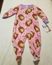 Disney Sofia One Piece Blanket Sleeper Sze 12 M Super Soft Footed Fleece Pajamas - $5.42