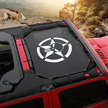 Durable Mesh Sunshade Top Cover Provides UV Sun Shade Protection for 2007-2017 J image 11