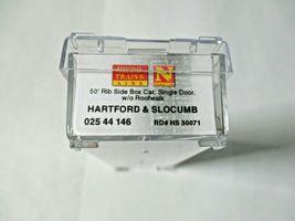 Micro-Trains # 02544146 Hartford & Slocumb Weathered 50' Rib-Side Boxcar N-Scale image 8