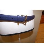 $38.Lauren Ralph Lauren Women's Stingray-Embossed Charm Belt, Size XL, M... - $21.04