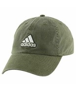 NEW! Adidas Men's Ultimate Relaxed Adjustable Cap-Earth Green/Black/Clea... - $49.38
