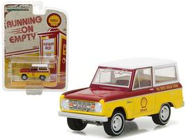 1967 Ford Bronco Shell Oil 1:64 Diecast Model Car by Greenlight - $14.27