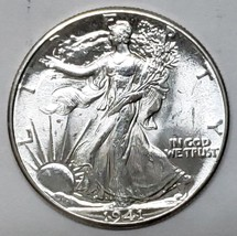 1941 Walking Liberty Half Dollar 90% Silver Coin Lot# E 149