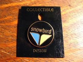 Snowbird UT Ski Lapel Pin - Sandy Utah USA Snow Skiing Resort Mountain S... - $19.79