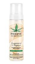 Hempz Sugarcane & Papaya Herbal Foaming Body Wash, 8.5OZ