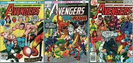 Lot of 3 Avengers Comics #117, 131, 181 (High Grade) - $102.49