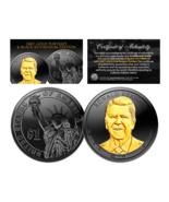 Black Ruthenium 2016 RONALD REAGAN Presidential Dollar Coin w/ 24K Gold ... - $378,82 MXN