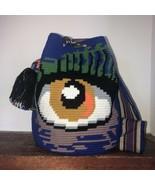 Authentic 100% Wayuu Mochila Colombian Bag Large Luxury Exclusive Evil Eye - $150.00