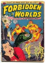 Forbidden Worlds 2 ACG 1951 FR GD - $63.42