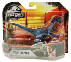 Jurassic World Attack Pack Velociraptor Dinosaur Action Figure GMP73 - $28.99