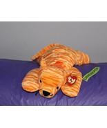 "Ty Pillow Pal Purr Orange Cat 14"" Stuffed Animal Plush 1996 - $16.82"