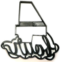Number Four 4 With Word Birthday Anniversary Cookie Cutter 3D Printed US... - $2.99