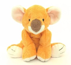 "2003 Ty Pluffies Orange Koala Bear Plush Baby Lovey Toy 11"" - $19.79"