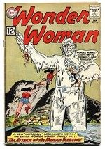 Wonder Woman #135 Comic Book 1963-HUMAN ICEBERG!-DC Silver AGE-VG - $50.44