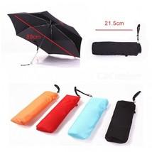 Unisex Stylish Mini Pocket Umbrella 165g Small Folding Umbrella Sun Rain... - $18.84