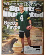 BRETT FAVRE, Kareem Abdul-Jabbar, WWE Manila in Sports Illustrated July ... - $7.95
