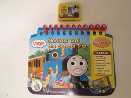 LeapFrog Game Cartridge & Game Book My First LeapPad Ages 3 & Up Thomas  - $12.99