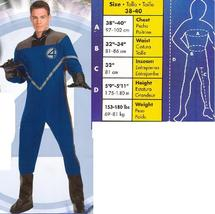 DELUXE MR. FANTASTIC ADULT COSTUME SIZE 38/40 - $55.00