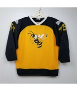 K1 Mens Georgia Tech Yellow Jackets Hockey Jersey XL Extra Large Blue Bl... - $46.71