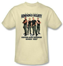 Stargate SG-1 Cast Original Homeworld Security T-Shirt, NEW UNWORN - $19.99