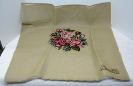Older Bucilla Shades o Pink Roses Needlepoint Canvas 2 Matching Price is... - $34.65
