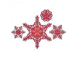 Spellbinders Holiday Create a Flake Six Dies #S5-236