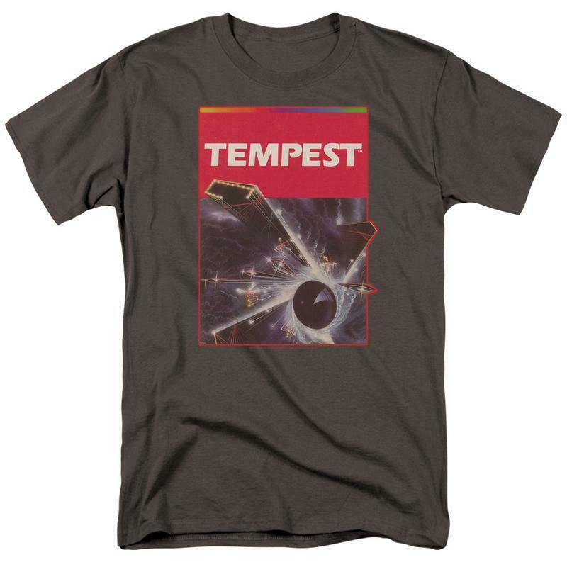 Atari Tempest Retro 80s Classic Arcade Game cotton graphic tee shirt ATRI210