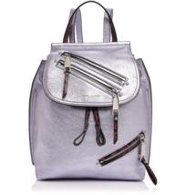 MARC JACOBS Zip Pack Embossed Trim Metallic Leather Backpack - $435.00
