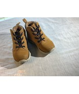 Toddler Shoes High Tops Boots Size 8 Brown Tan Boots  Hiking Camping. - $14.42
