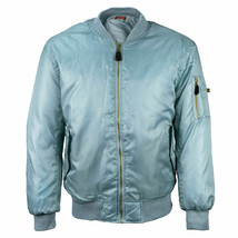 Men's New W/Defect Padded Zip Up Water Resistant Flight Bomber Jacket