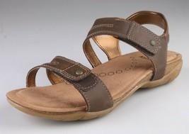 NEW Khombu Womens AVA Comfort Footbed Adjustable Brown or Black Summer Sandals