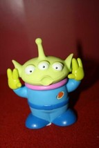 Disney Pixar Toy Story Alien Pizza Planet Claw Alien Squeaks RARE 2003 V... - $20.46