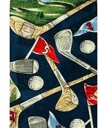 TABASCO Golf Tie Clubs Course Tees Beautiful 100% Silk Vibrant Colors USA - $4.94