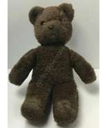 "Manhattan Toy Co. Vintage 1985 Brown Teddy Bear Lovey 12"" - $12.82"