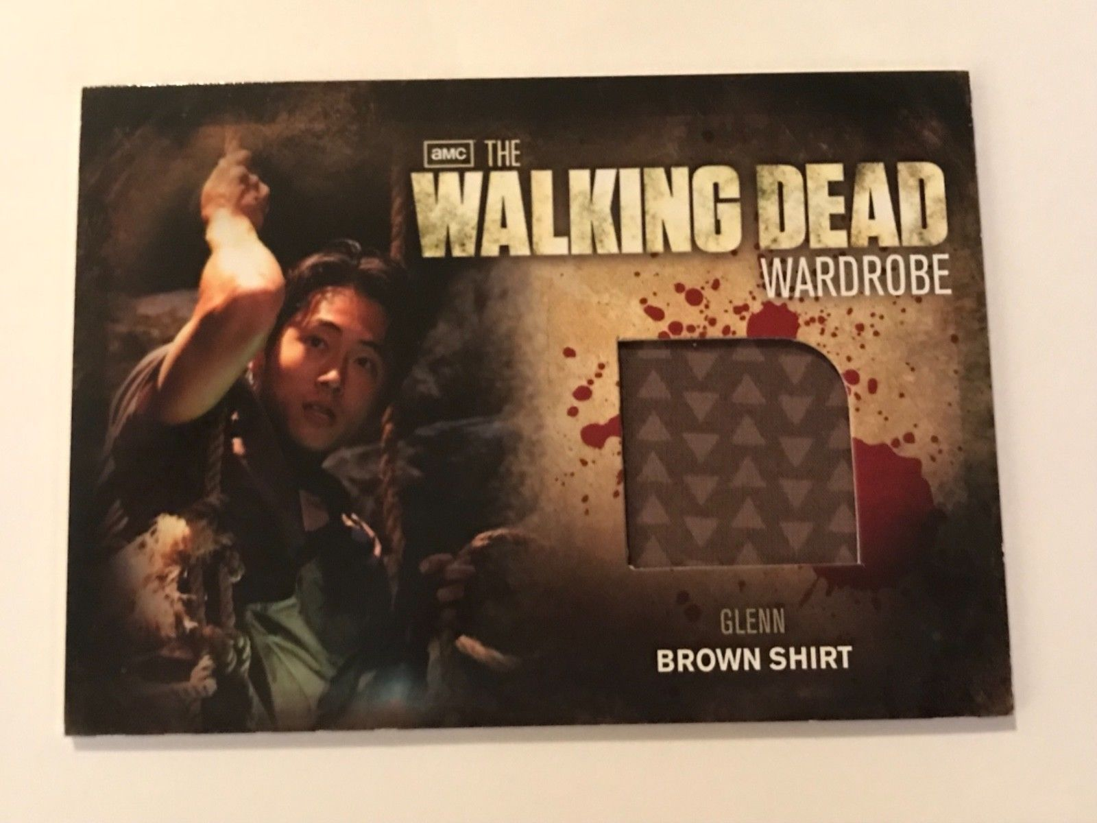 Primary image for Cryptozoic Walking Dead Season 2 Wardrobe Steven Yeun as Glenn M6