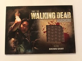 Cryptozoic Walking Dead Season 2 Wardrobe Steven Yeun as Glenn M6 - $20.79