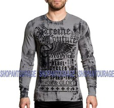 XTREME COUTURE Speed Couture X1716 New Men`s Grey Thearmal By Affliction - $39.95
