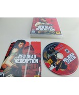 RED DEAD REDEMPTION PLAYSTATION 3 PS3 COMPLETE IN BOX W/ MANUAL Tested - $12.73