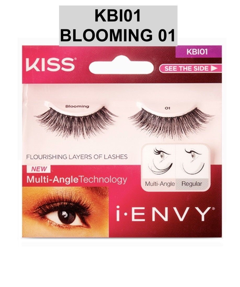 I ENVY BY KISS EYELASHES BLOOMING 01 # KBI01 MULTI ANGLE TECHNOLOGY - $3.85