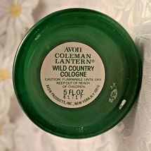 Vintage Avon Coleman Lantern Wild Country Men's Cologne - In Original Box image 3