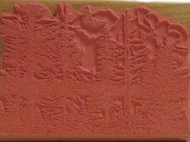 Artistic Stamp Exchange Soaring Eagle Rubber Stamp image 2